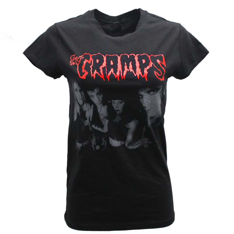 Womens The Cramps Baby Tee