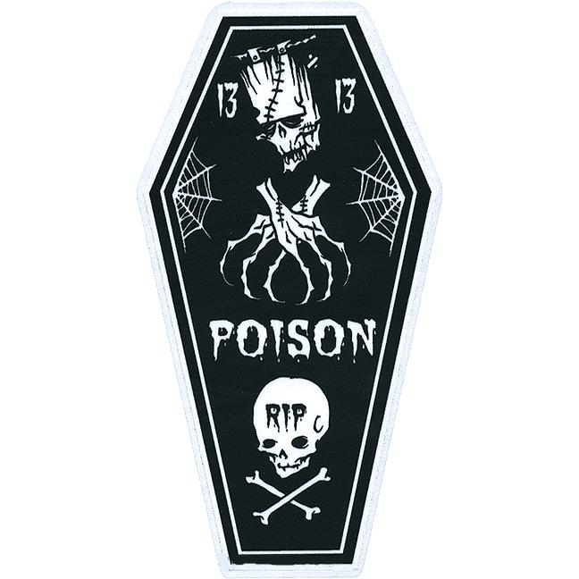 Pigors Poison Coffin StickerPigors Poison Coffin Sticker