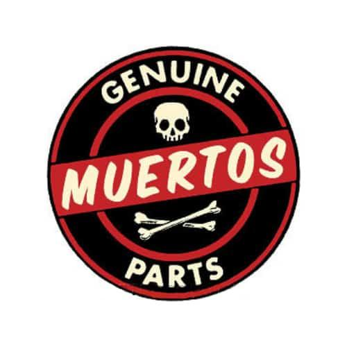 Kruse Genuine Muertos Parts Sticker
