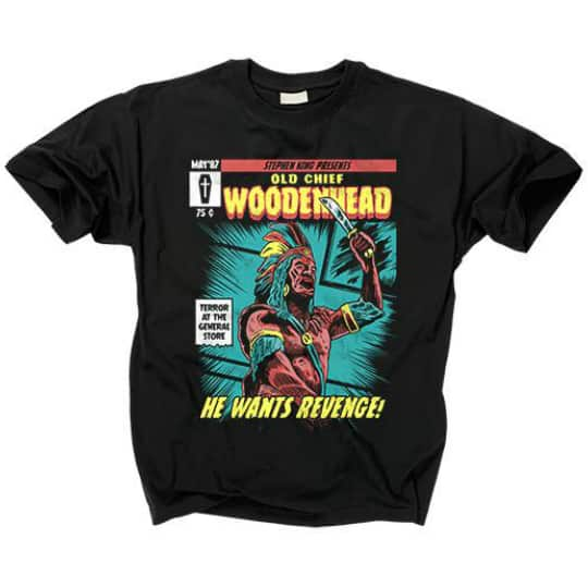 Creepshow 2 Old Chief Woodenhead T-Shirt