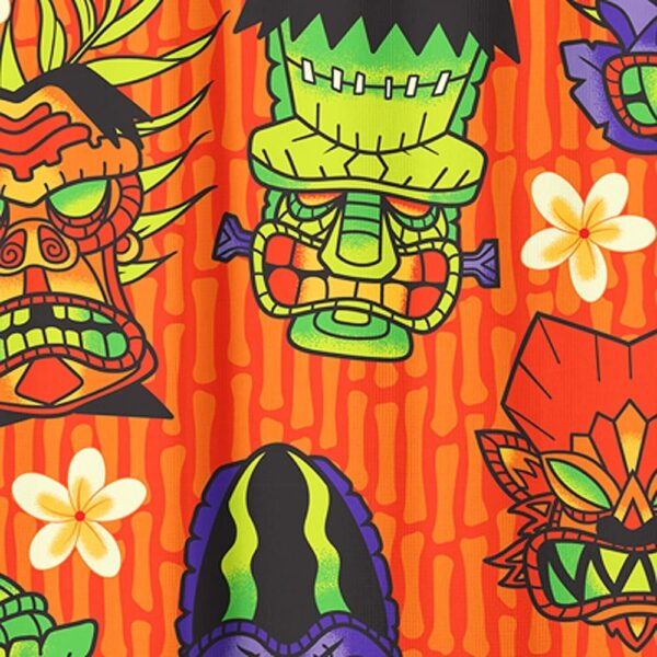 Monster Tiki Shower Curtain