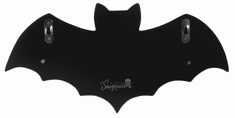 Black Bat Shelf by Sourpuss Clothing 1