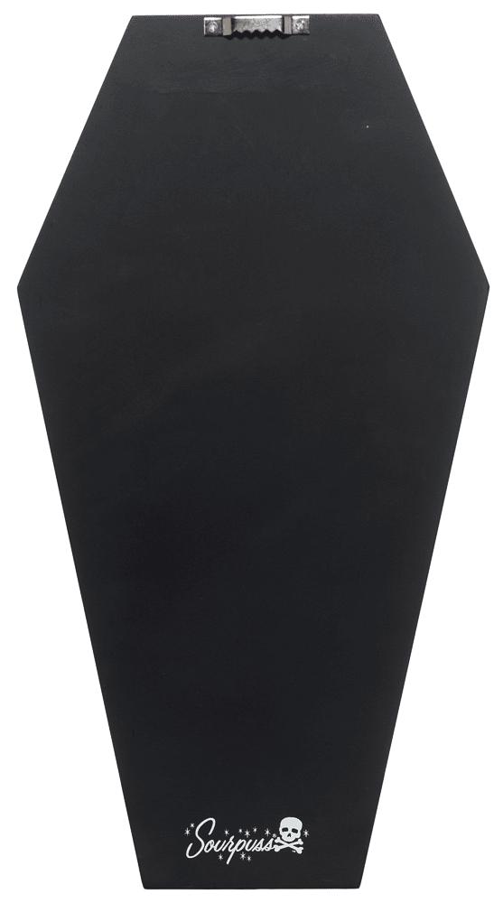 Black Leopard Coffin Shelf by Sourpuss Clothing 1