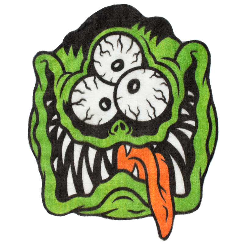 Fink Face Rug by Sourpuss Clothing