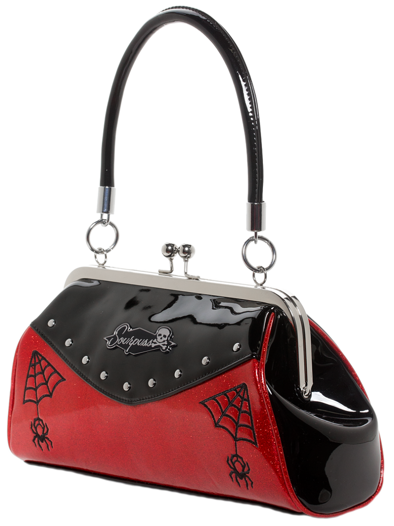 Red Webbed Widow Purse by Sourpuss Clothing 1