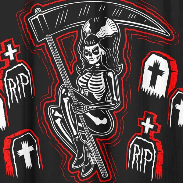 Graveyard Ghouls Shower Curtain by Sourpuss Clothing