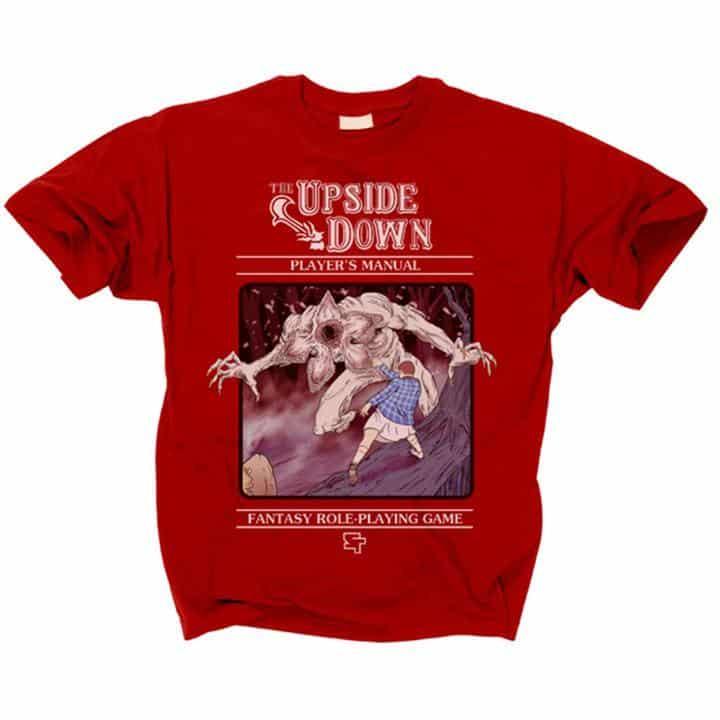 Stranger Things The Upside Down RPG T-Shirt