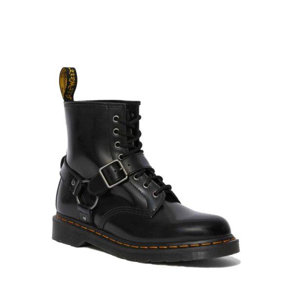 Dr. Martens 1460 Black Harness 8-Eye Boot