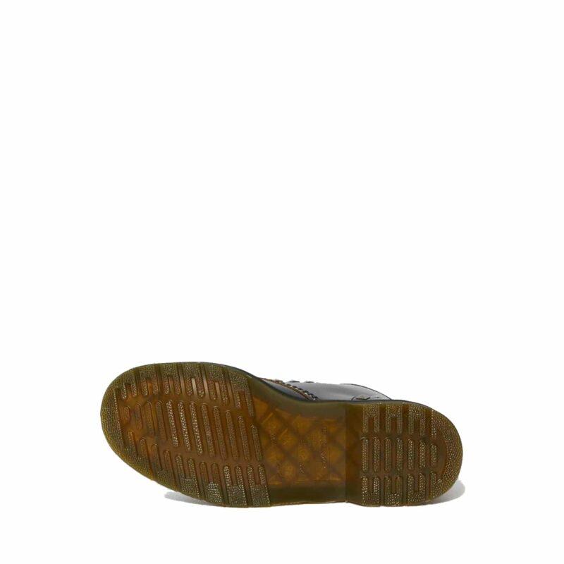 1460/25202001 Black Stud Vintage Smooth 8-Eye Boot 6