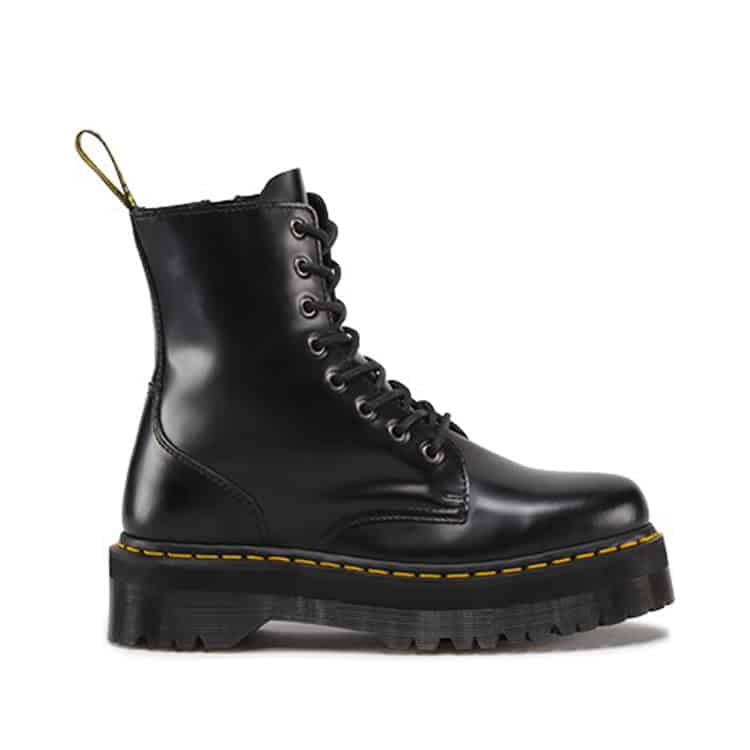 Dr. Martens Black Jadon Platform 8-Eye Boot 1