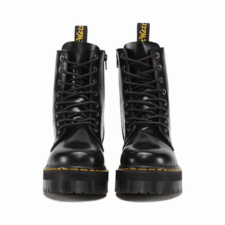 Dr. Martens Black Jadon Platform 8-Eye Boot 2