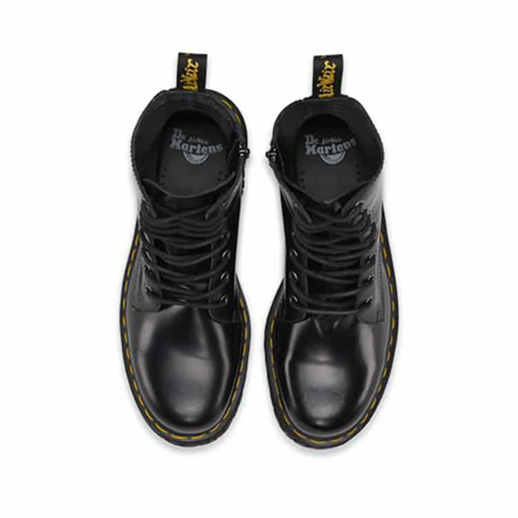 Dr. Martens Black Jadon Platform 8-Eye Boot 5