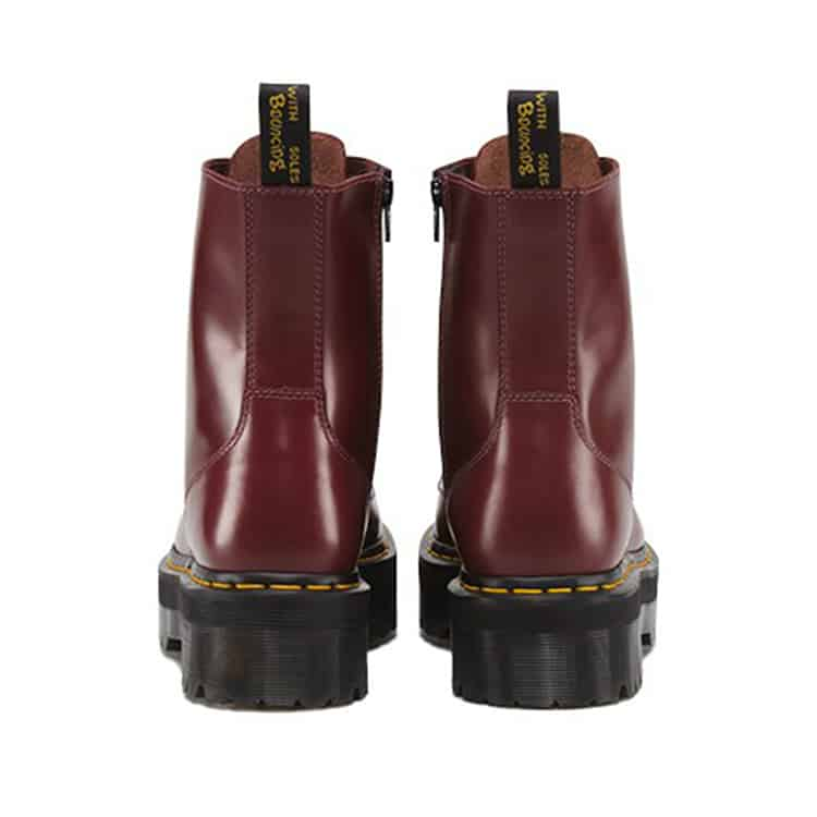 Dr. Martens Cherry Red Jadon Platform 8-Eye Boot 3