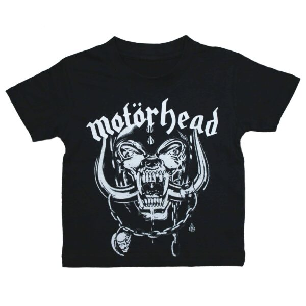 Motörhead Snaggletooth Kids Black T-Shirt