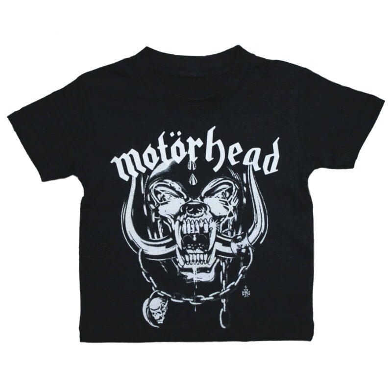 Motörhead Snaggletooth Kids Black T-Shirt