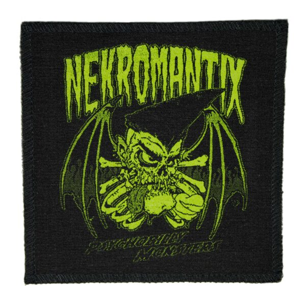Nekromantix Psychobilly Monsters Cloth Patch