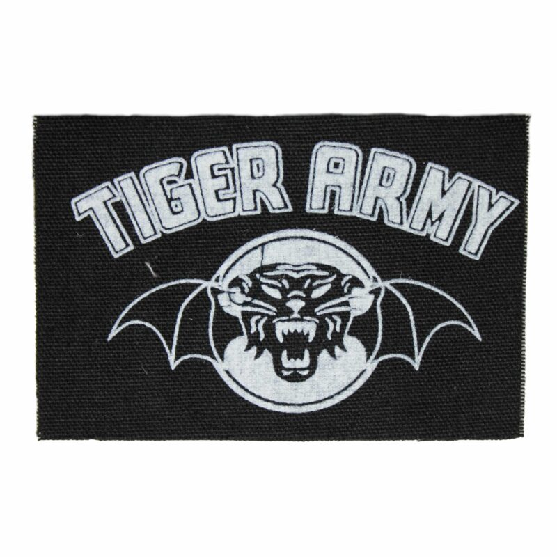 Tiger Army Ghost Tigers Rise Cloth Patch