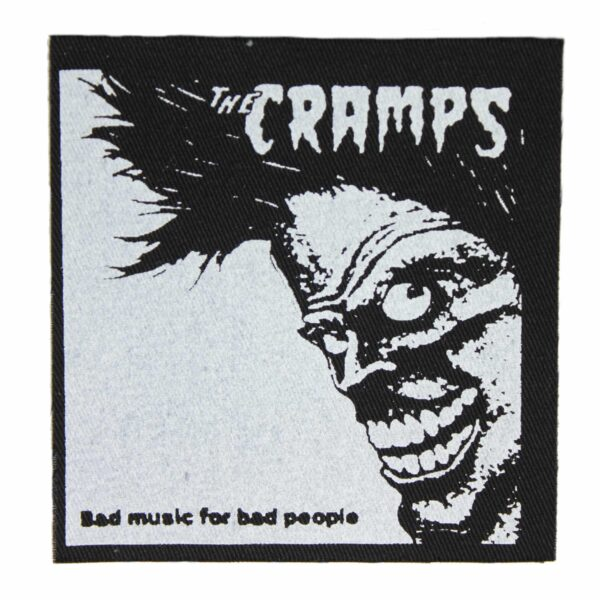 The Cramps Bad Music for Bad People Cloth Patch