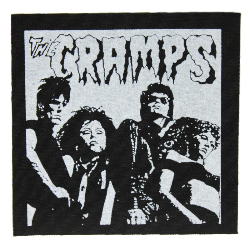The Cramps Band Photo Cloth Patch