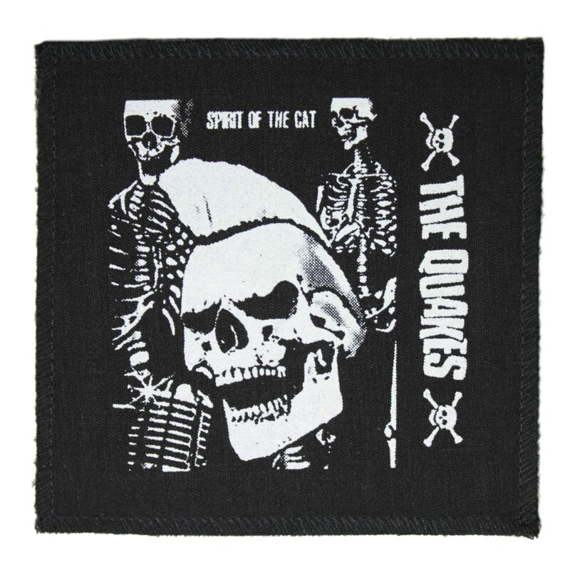 The Quakes Spirit of the Cat Cloth Patch