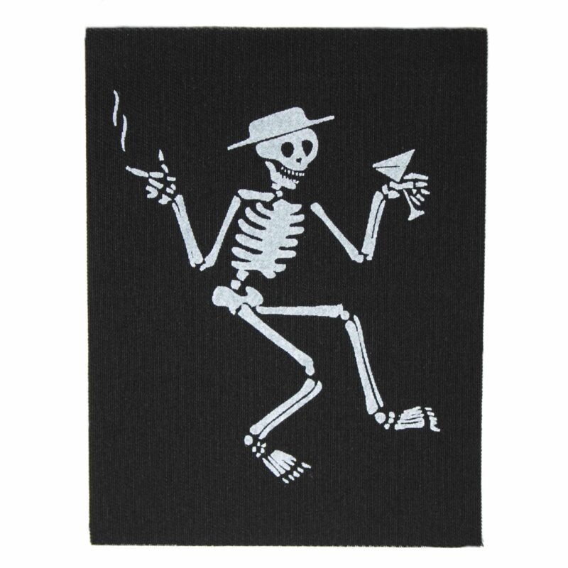 Social Distortion Skelly Cloth Patch