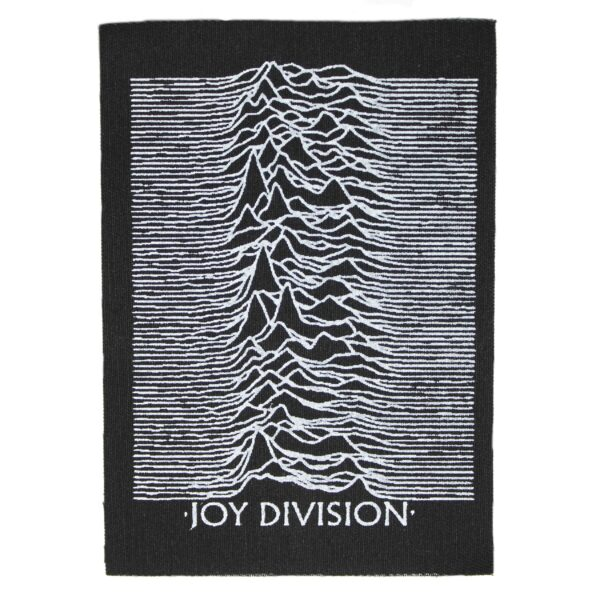 Joy Division Unknown Pleasures Cloth Patch