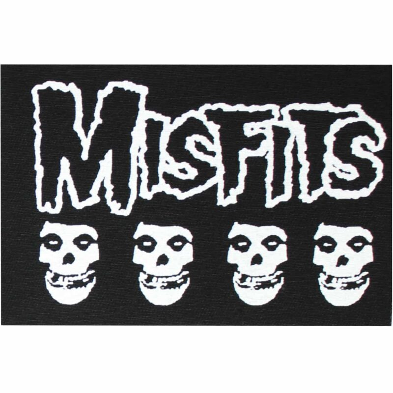 Misfits Fiend Skulls Cloth Patch