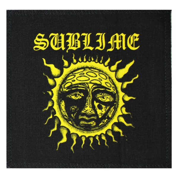 Sublime 40 Oz. To Freedom Cloth Patch