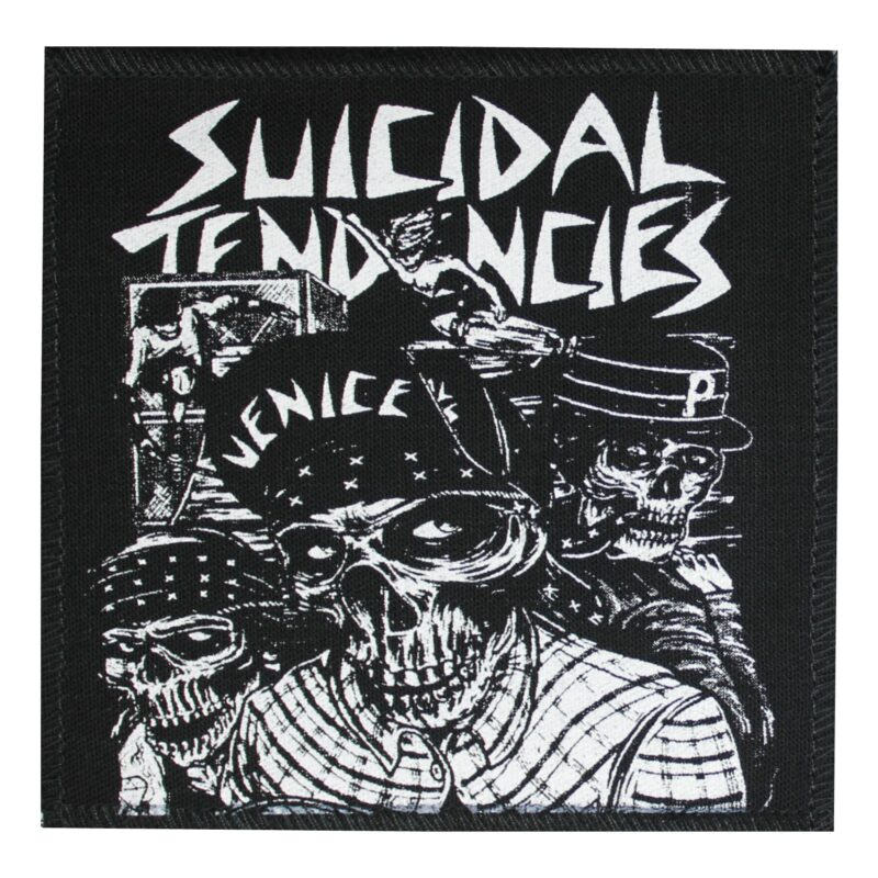 Suicidal Tendencies Venice Cloth Patch 1