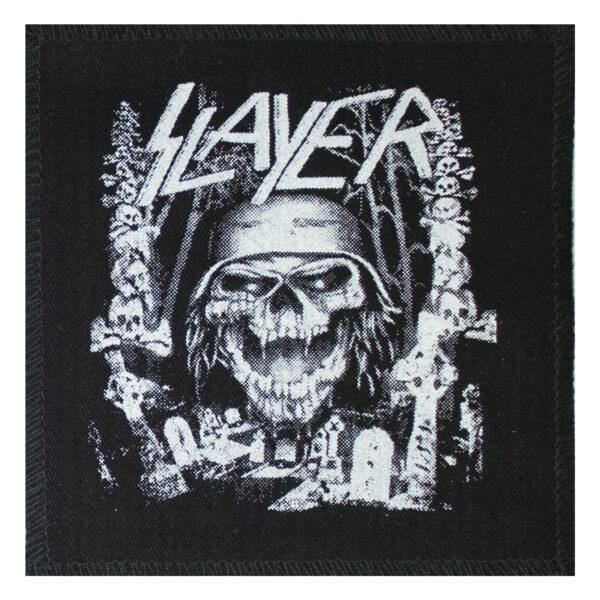 Slayer Skull Cloth Patch