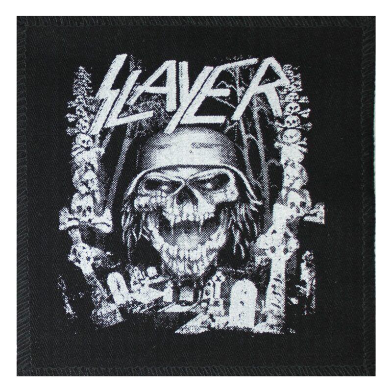 Slayer Skull Cloth Patch