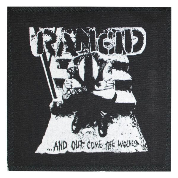 Rancid And Out Come the Wolves Cloth Patch