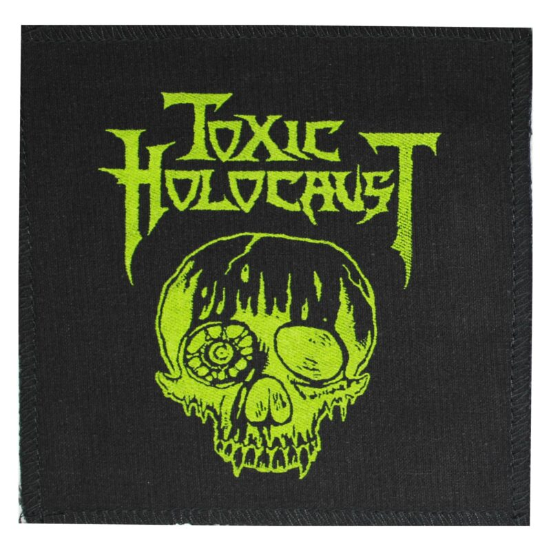 Toxic Holocaust Skull Cloth Patch