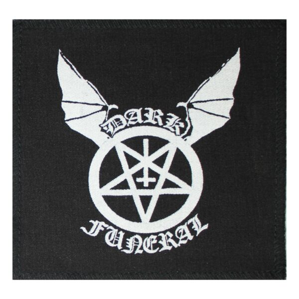 Dark Funeral Pentagram Cloth Patch