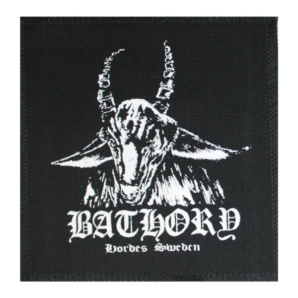 Bathory Hordes Sweden Cloth Patch