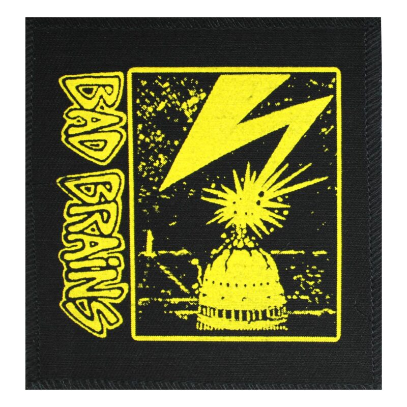 Bad Brains Yellow Cloth Patch 1