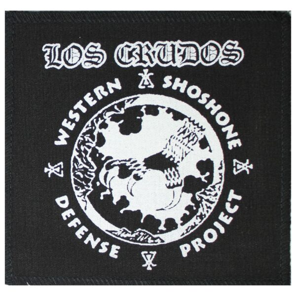 Los Crudos Manumission Cloth Patch