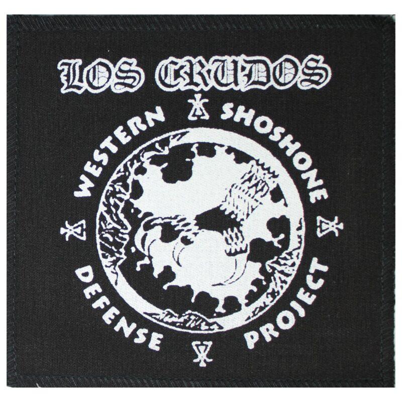 Los Crudos Manumission Cloth Patch