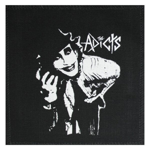 The Adicts Monkey Cloth Patch