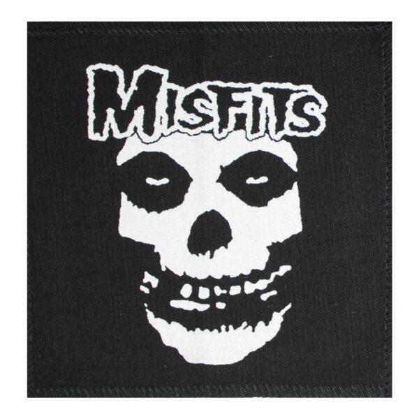 Misfits Fiend Skull Cloth Patch