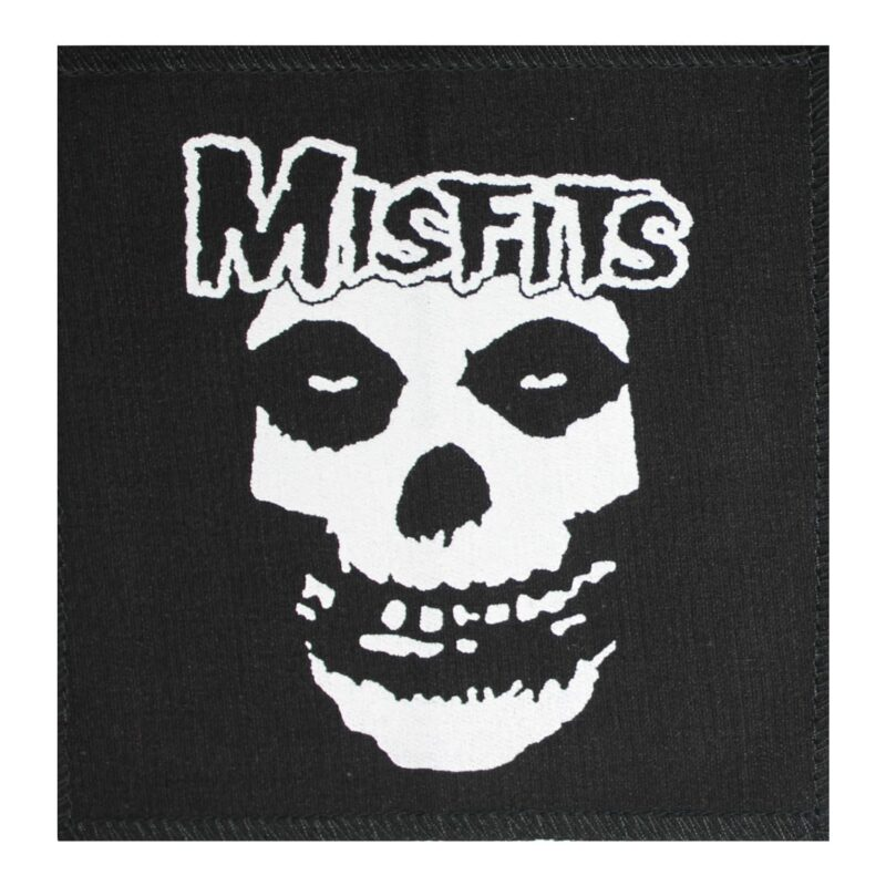Misfits Fiend Skull Cloth Patch