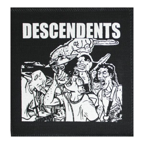 Descendents Live Plus One Cloth Patch