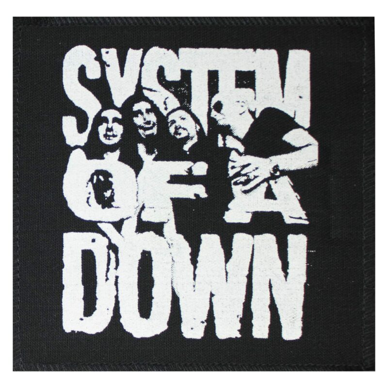 System of a Down Cloth Patch 1