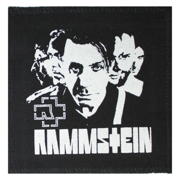 Rammstein Band Photo Cloth Patch