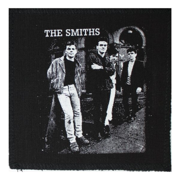 The Smiths Band Photo Cloth Patch