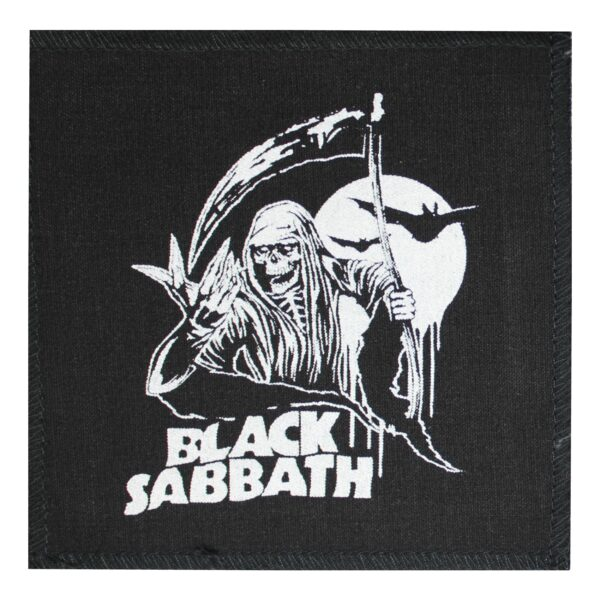 Black Sabbath Reaper Cloth Patch