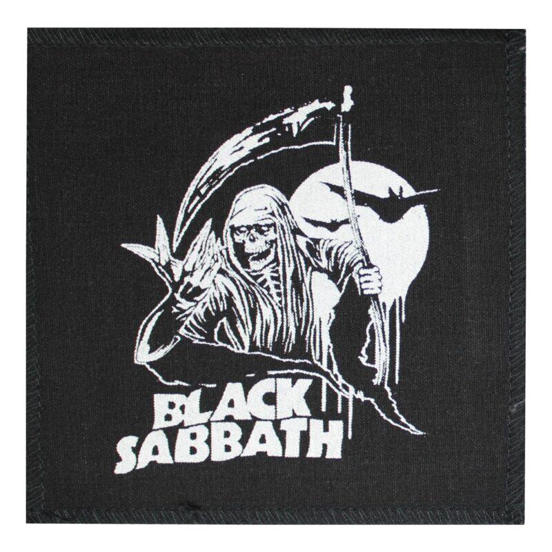 Black Sabbath Reaper Cloth Patch