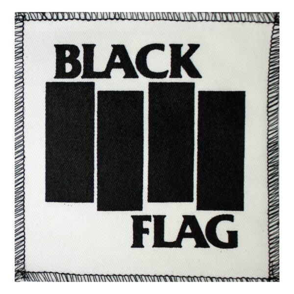 Black Flag Cloth Patch