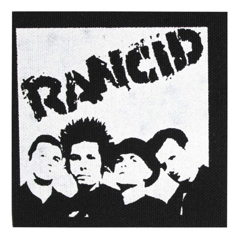 Rancid Group Photo Cloth Patch