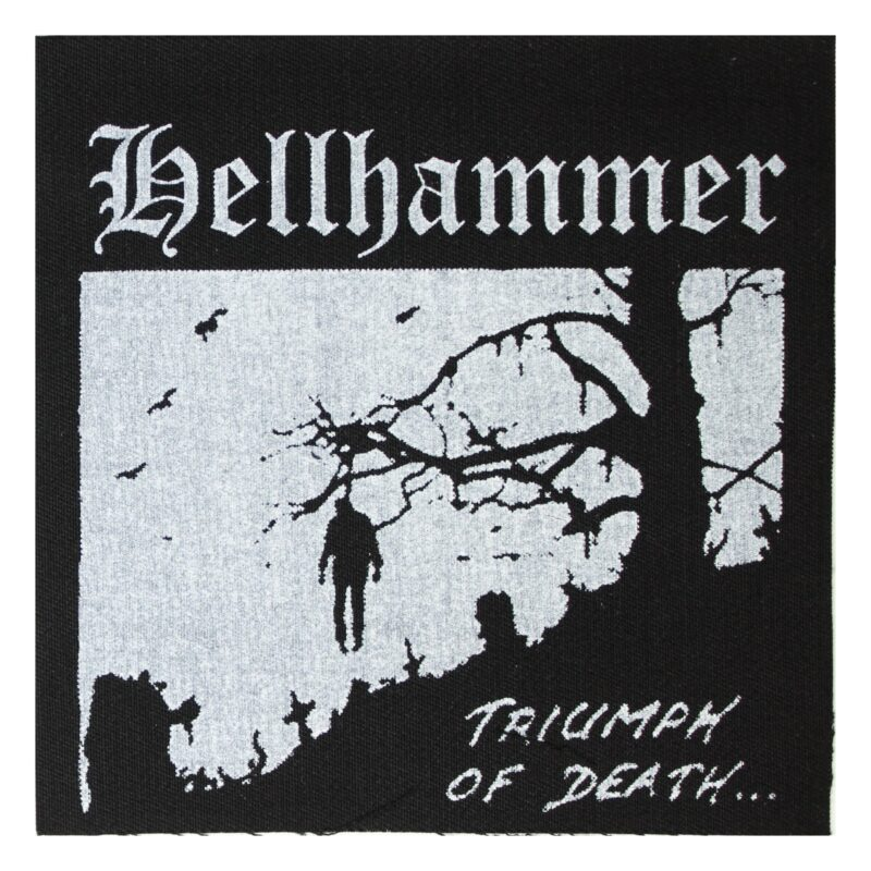 Hellhammer Triumph of Death Cloth Patch